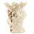 CALTAGIRONE: Head Vase Woman with LEMONS Antiqued Ivory (Large)