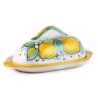 LIMONI: Butter Dish w cover