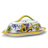 RAFFAELLESCO DELUXE: Butter dish with cover