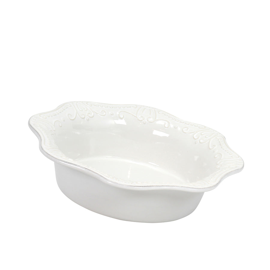 SKYROS: ISABELLA - Round Baker Pure White