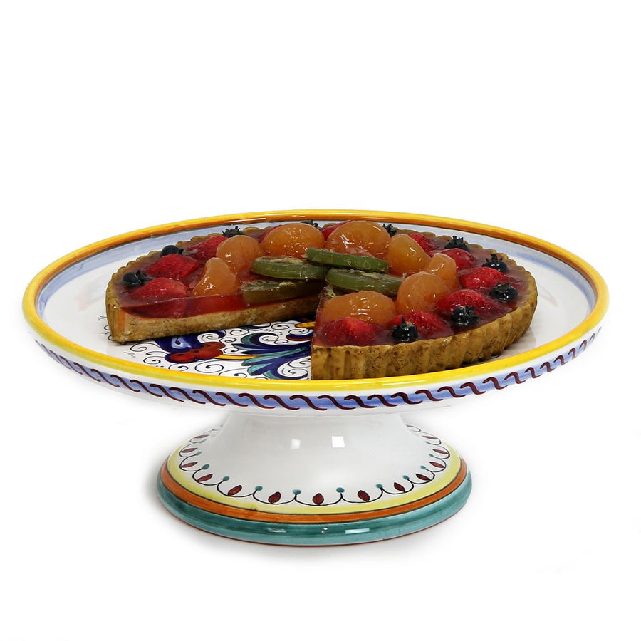RICCO DERUTA: Footed Cake Cheese platter
