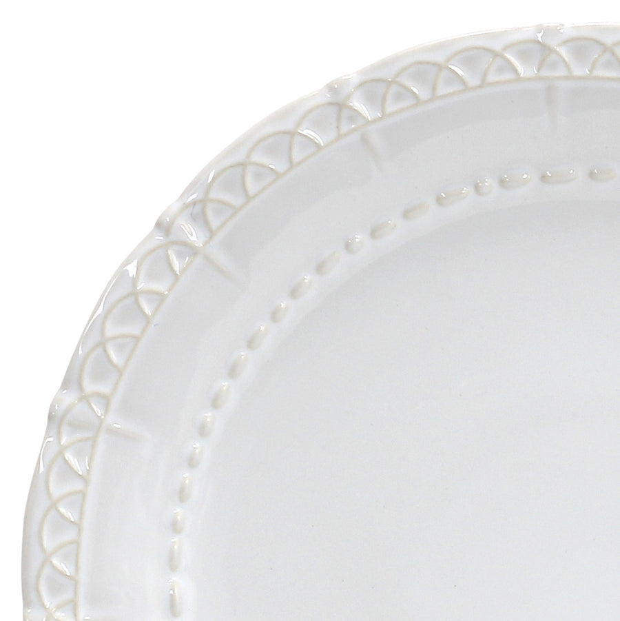 SKYROS: HISTORIA - Charger Plate White