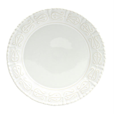 SKYROS: HISTORIA - Salad-4 Assorted Embossed Designs (SET of FOUR) White