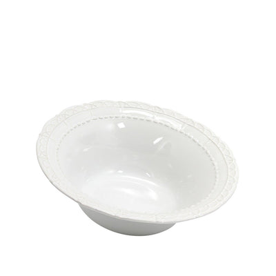 SKYROS: HISTORIA - Serving Bowl White