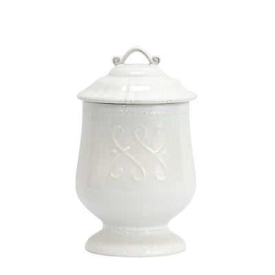 SKYROS: HISTORIA - Canister Set of Three - Sealing lid - White