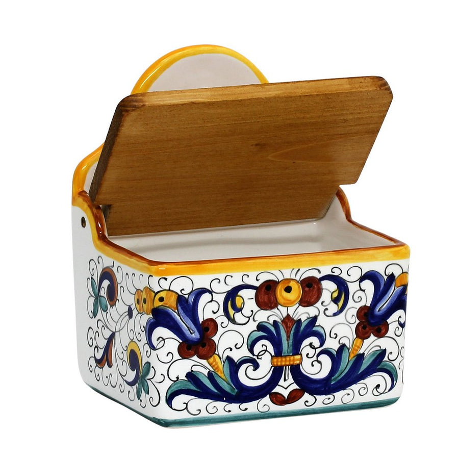 RICCO DERUTA: Rock Salt Box with wood lid