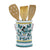 ORVIETO GREEN ROOSTER: Utensil Holder (NEW!)