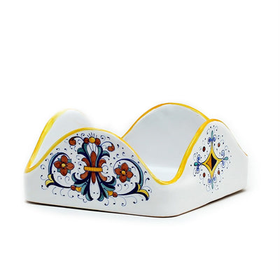 "RICCO DERUTA: Square Napkins Holder (For Luncheon Size napkins 6.5""x6.5"")"