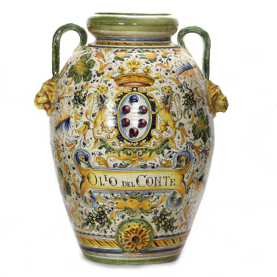Shop by size vases urns extra large artistica majolica caffagiolo extra large tuscan orcio reviewsmspy
