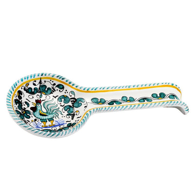ORVIETO VERDE: Spoon Rest (Wall hung ready)