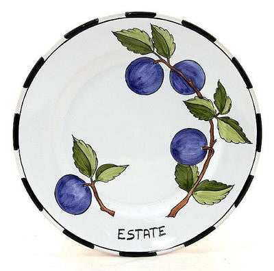 TOSCANA: Four Season Wall Plates SET of 4 (10D)