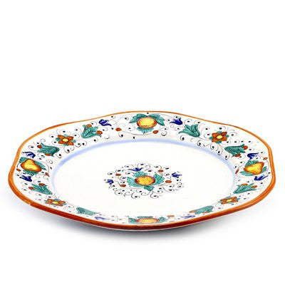 FRUTTINA: Hexagonal Lg Charger Turkey Platter