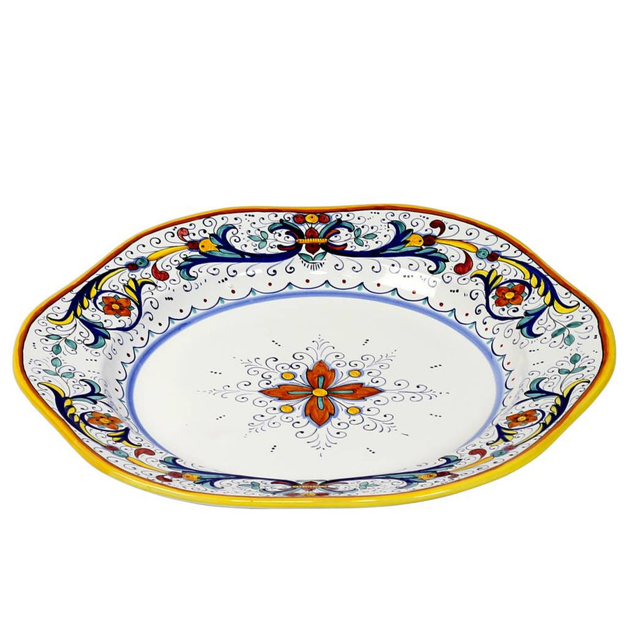 RICCO DERUTA: Hexagonal Charger Turkey Platter