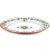 FRUTTINA: Hexagonal Lg Oval Turkey Platter