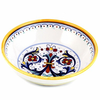 RICCO DERUTA: Round Traditional Pasta Soup Cereal Bowl