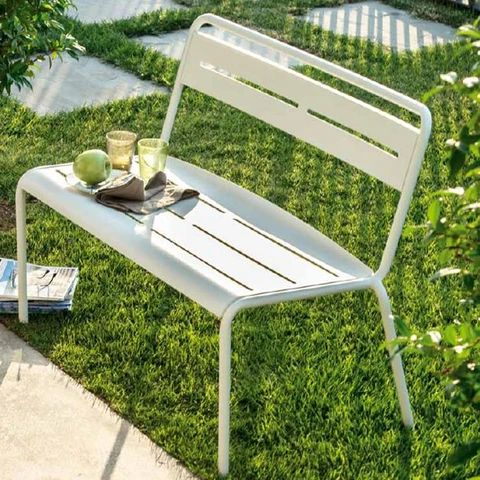 EMU ITALY: STAR - Outdoor/Indoor Iron Bench
