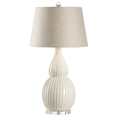 VIETRI: Ventura Lamp ~ Cream