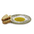 DERUTA VARIO DELUXE: Olive Oil Fancy Dipping Bowl with large rim SAGE GREEN Color