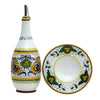 RAFFAELLESCO: Olive Oil Bottle Dispenser with optional matching Saucer/Dipping Bowl