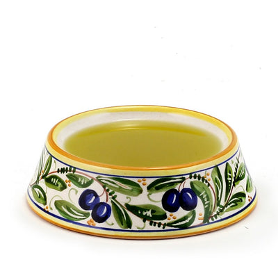 OLIVE: Round Olive Oil Dipping Bowl