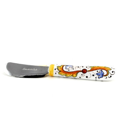 PERUGINO: Butter Spreader Knife with ceramic handle