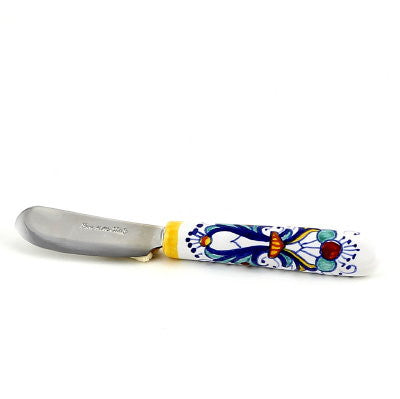 RICCO DERUTA: Butter Spreader Knife with ceramic handle