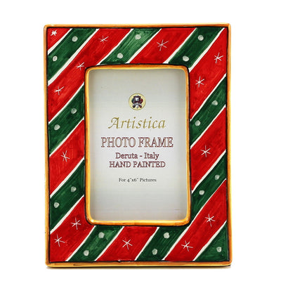 PHOTO FRAME: Deruta Christmas Holidays (For 4x6 Picture)