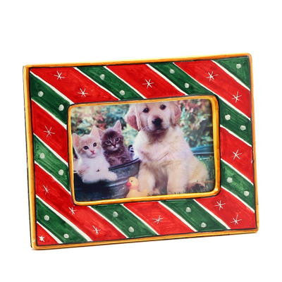 "PHOTO FRAME: Deruta Christmas Holidays (For 5""x7"" Picture)"