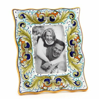 PHOTO FRAME: Deruta Vario Foglie Verdi (For 3.5x5 Picture)