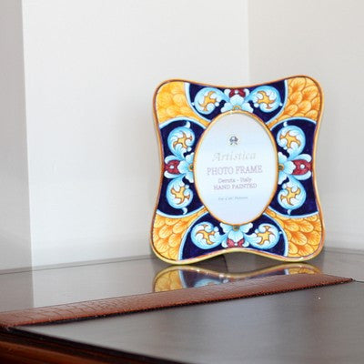 PHOTO FRAME: Deruta Vario Celeste (For 4x6 Picture)