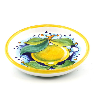 LIMONI: Bottle Glass Coaster Lemon