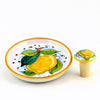 LIMONI: Bottle Coaster and Wine Stopper (Set)