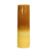 SCAVO CONTEMPO: Cylindrical Vase - NEW Orange to Yellow shaded