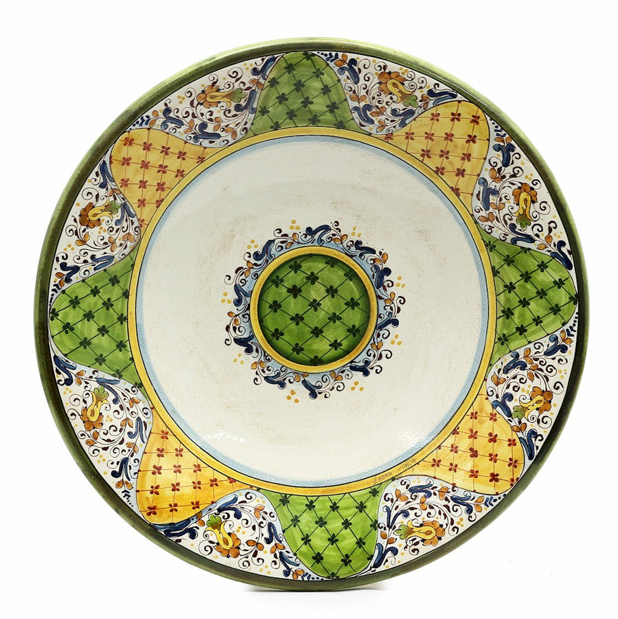 MAJOLICA: Large Wall Plate