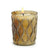 MONDIAL CANDLES: Vix Swirl Design Glass Container Candle Bronze/Silver