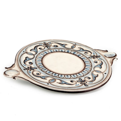 CAFF ALBA: Round Tray with handles