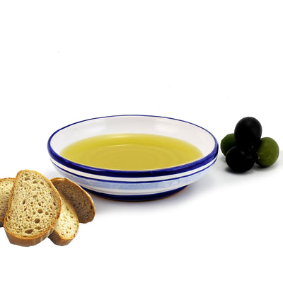 Round Olive Oil Dipping Bowl