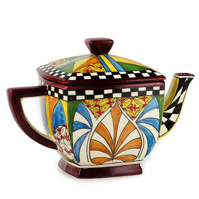 GAUDI: Square Tea Pot