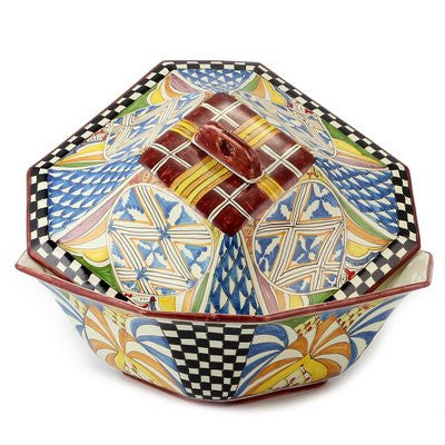 GAUDI: Hexagonal shape Tureen