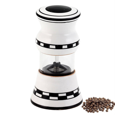 BLACK WHITE: Deruta Salt Pepper Mill