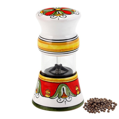 TIZIANO: Deruta Salt Pepper Mill