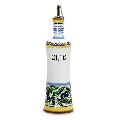OLIVE: Olive Oil Bottle with S Steel capped pourer