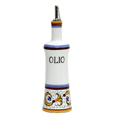 PERUGINO: Olive Oil Bottle with S Steel capped pourer