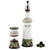 POMPEI: Olive Oil Bottle and Salt Pepper Mill SET
