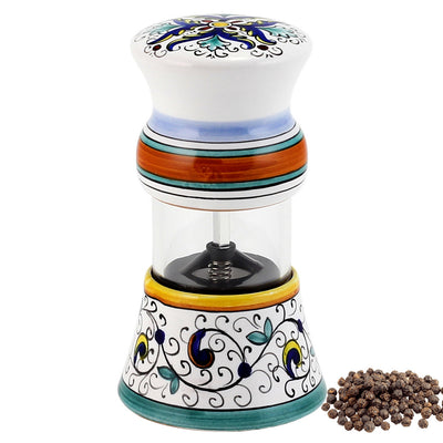 RICCO DERUTA: Olive Oil Bottle and Salt Pepper Mill SET