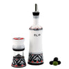 RINASCIMENTO: Olive Oil Bottle and Salt Pepper Mill SET