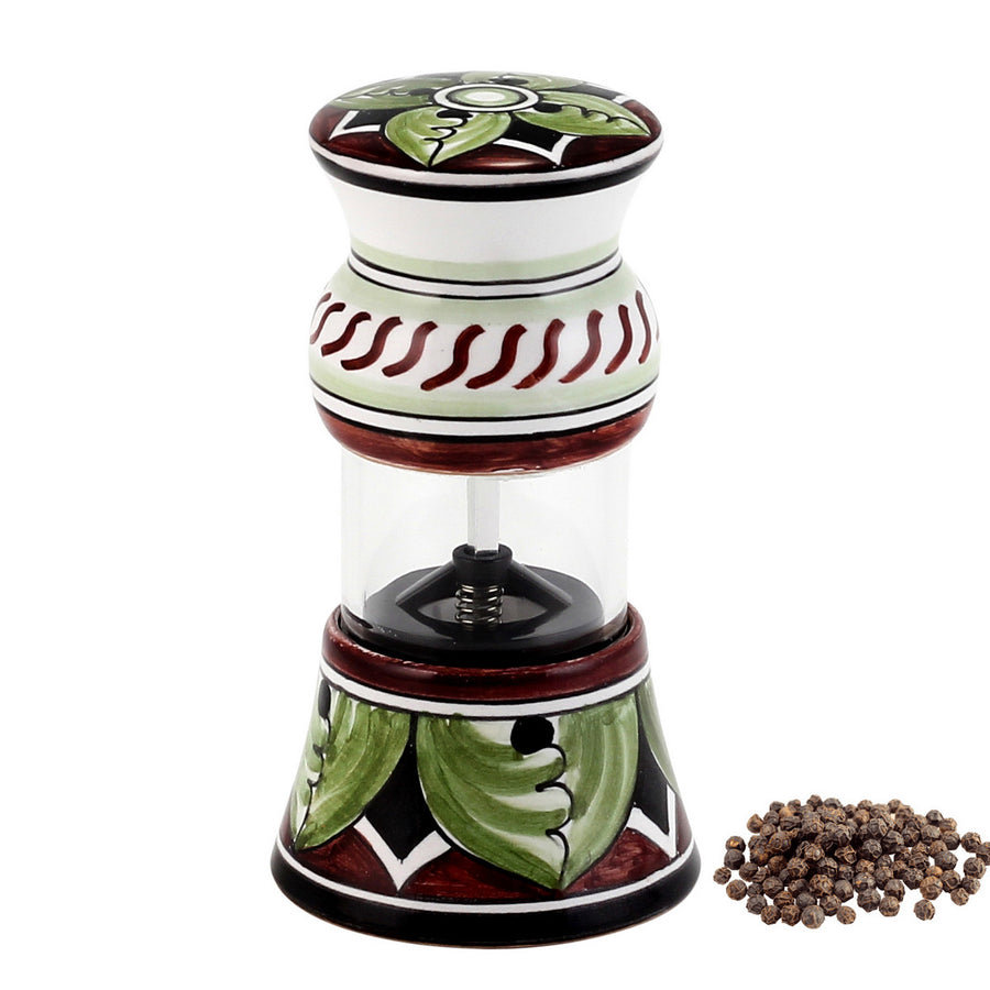 POMPEI: Olive Oil Bottle and Dipping Bowl and Salt Pepper Mill SET