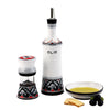 RINASCIMENTO: Olive Oil Bottle and Dipping Bowl and Salt Pepper Mill SET