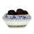 NUOVA TOSCANA: Fruit Bowl Centerpiece - TRINA BLUE Design