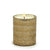 MONDIAL CANDLES: Reese Design Glass Container Candle Bronze/Gold